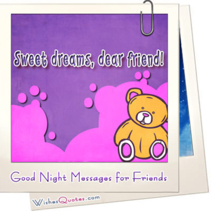 Good night messages for friends featured