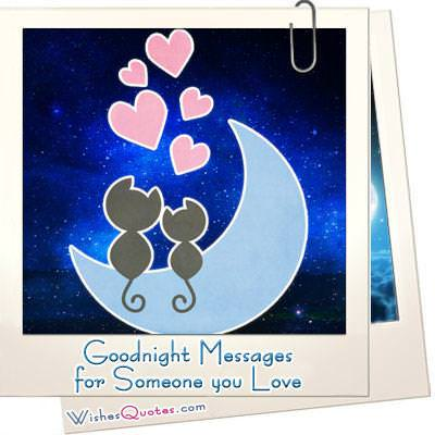 Goodnight Messages for Someone you Love