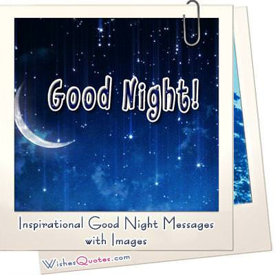 Inspirational Good Night Messages - Give The Gift Of Sweet Dreams