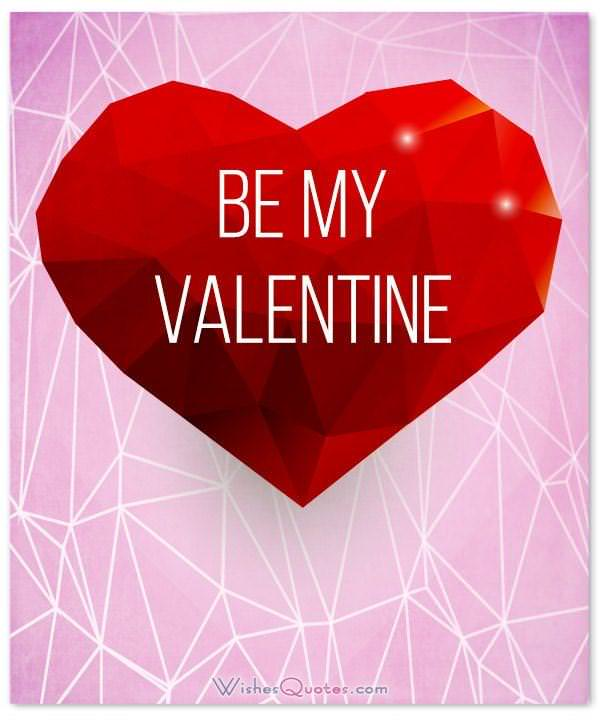 Be My Valentine Card ...