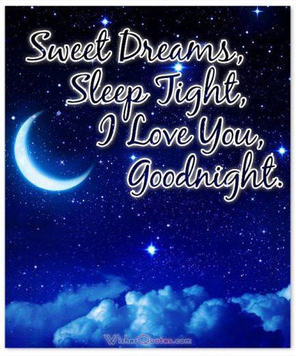 Image with Good Night Message for Boyfriend