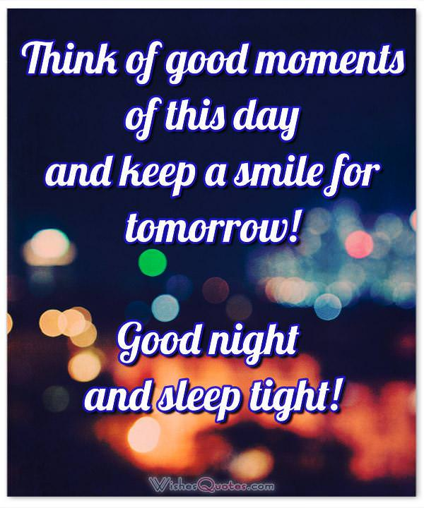 Good Night Messages Images