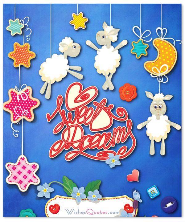 Romantic Good Night Card