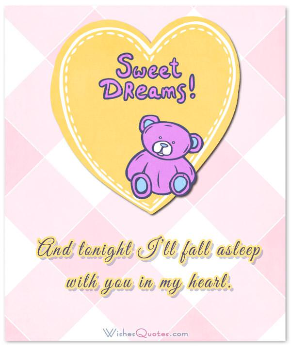 ... Goodnight Messages For Someone You Love. And Tonight Iu0027ll Fall Asleep  With You