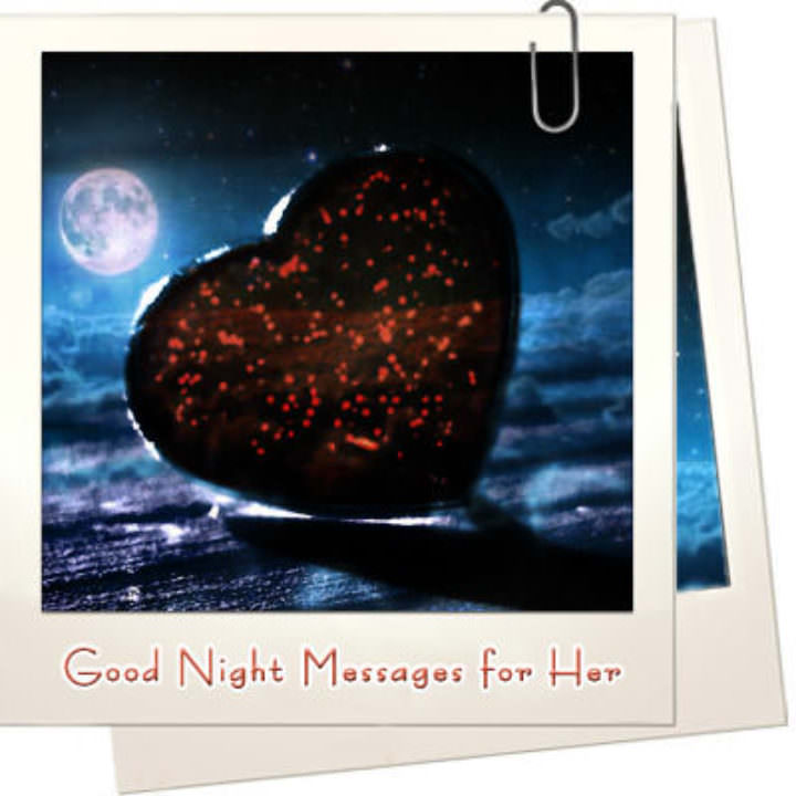 Good night messages for her featured