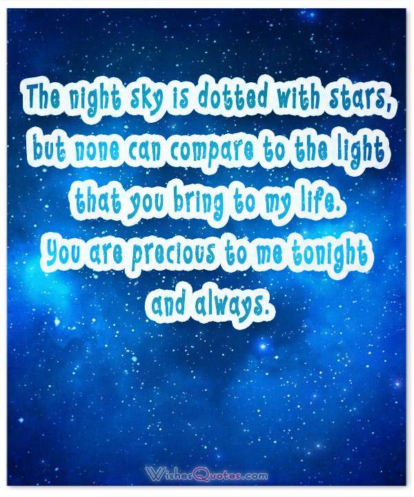 Message for boyfriend goodnight