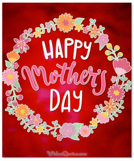Happy Mother's Day. Mother's Day Wishes and Greeting Cards.