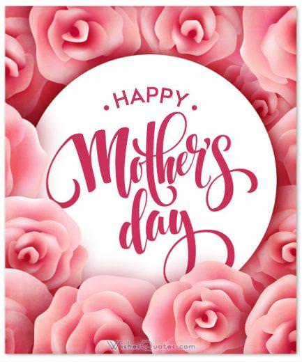 Happy Mother's Day. Mother's Day Wishes and Greeting Cards