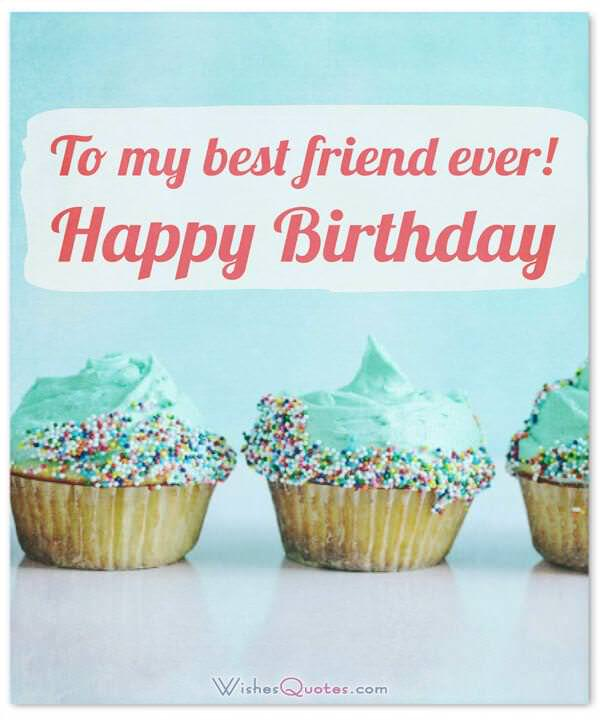 Happy Birthday Quotes Best Friend Girl: Birthday Wishes For Your Best Friends (with Cute Images