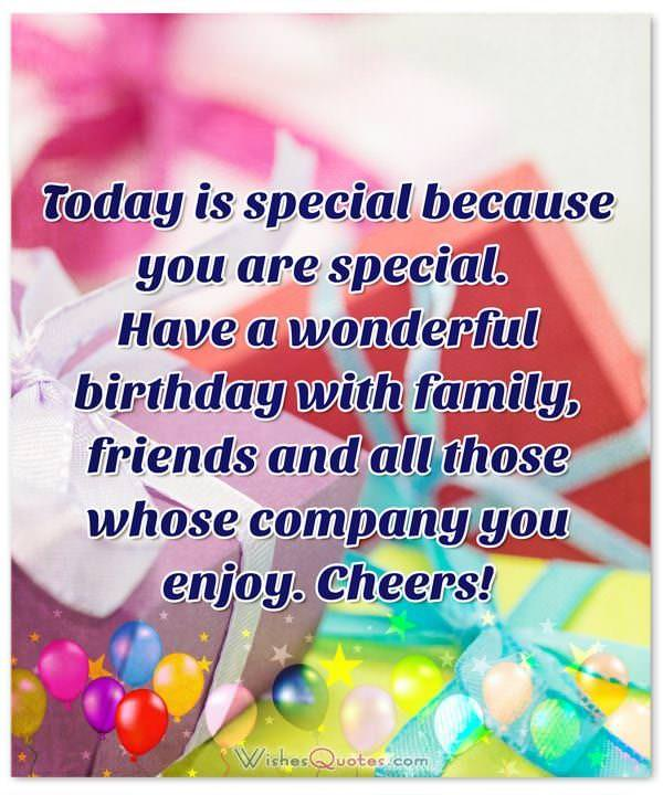 Deepest Birthday Wishes for Someone Special in Your Life – Special Birthday Greeting