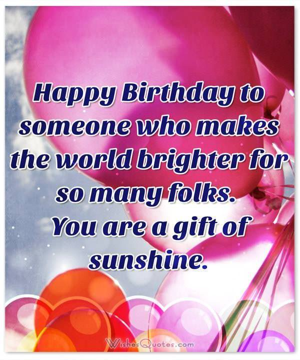 deepest birthday wishes for someone special in your life adorable