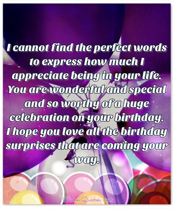 Deepest birthday wishes for someone special in your life adorable beautiful birthday wishes for someone special in your life thecheapjerseys Images