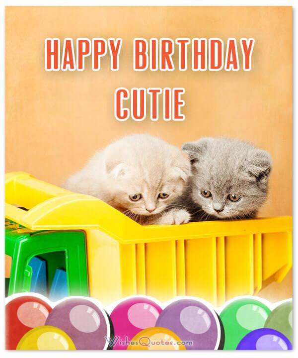 Happy Birthday Cutie Wishes For Your Best Friends