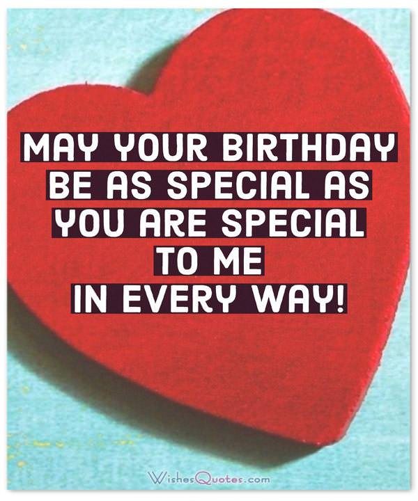 May Your Birthday Be As Special As You