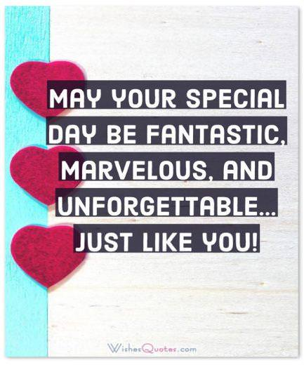May Your Special Day Be Fantastic