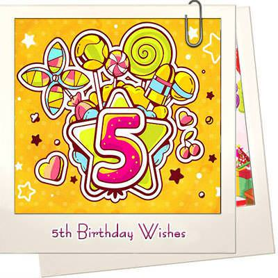 5th Birthday Wishes