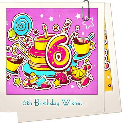 6th Birthday Wishes