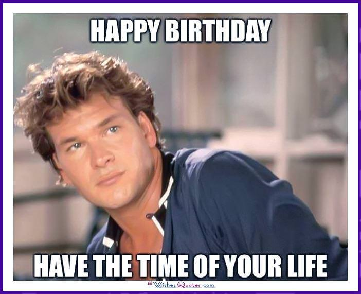 Birthday Meme with Patrik Sueze - Happy Birthday! Have the time of your life.