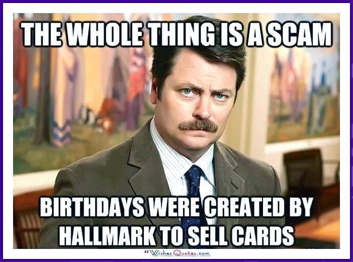 Funny Birthday Memes For Your Sister : Birthday memes with famous people and funny messages
