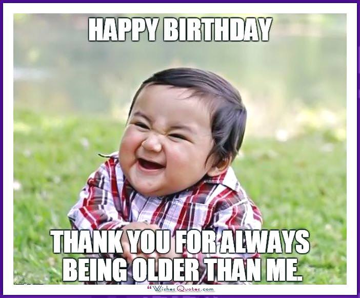 birthday memes with famous people and funny messages