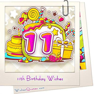 11th birthday wishes featured image