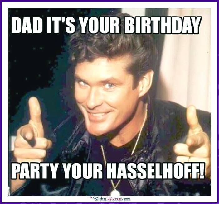 Funny Birthday Meme for Dad
