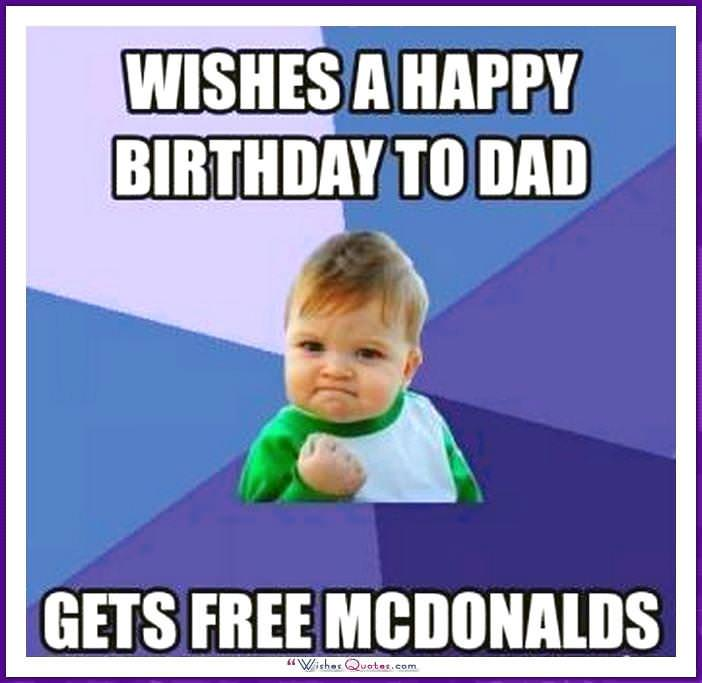 Funny Birthday Memes For Dad Mom Brother Or Sister Wishesquotes