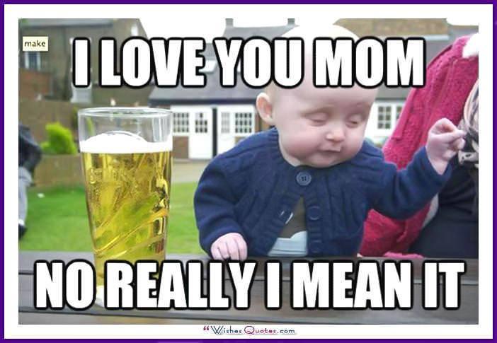 Funny Birthday Meme for Mom