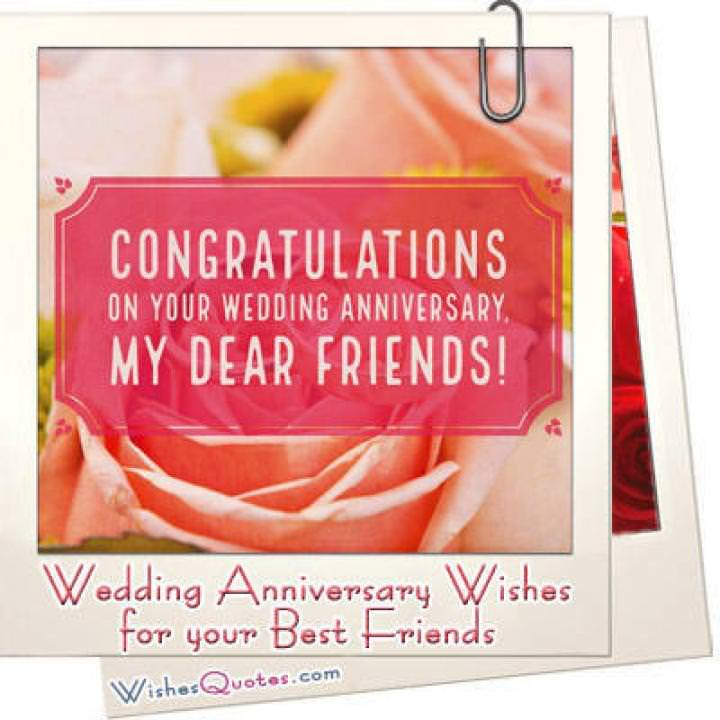 Anniversary wishes best friends