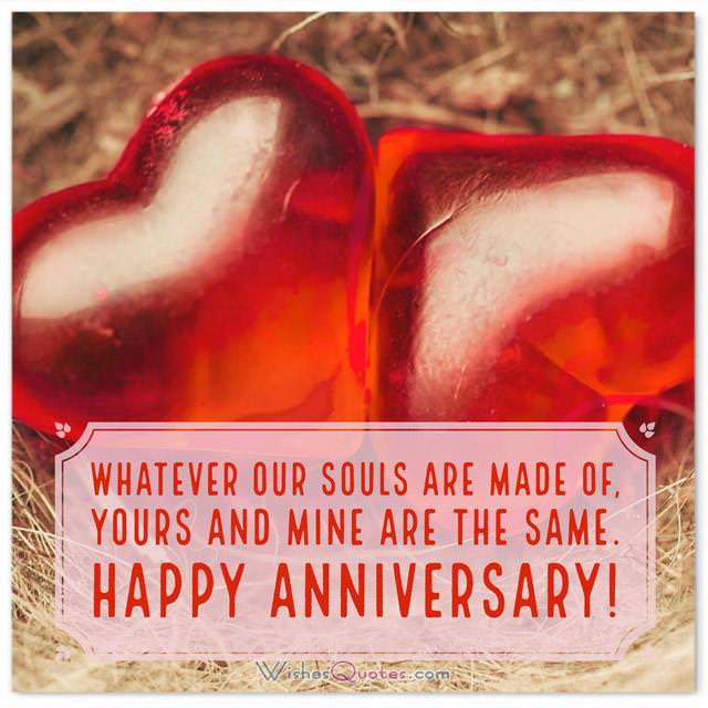 Romantic First Wedding Anniversary Messages For Wife