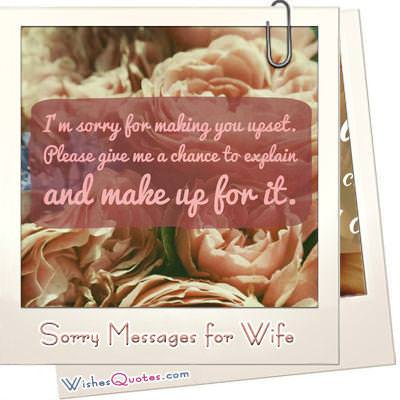 Im Sorry Messages  Apology Letters  WishesQuotes