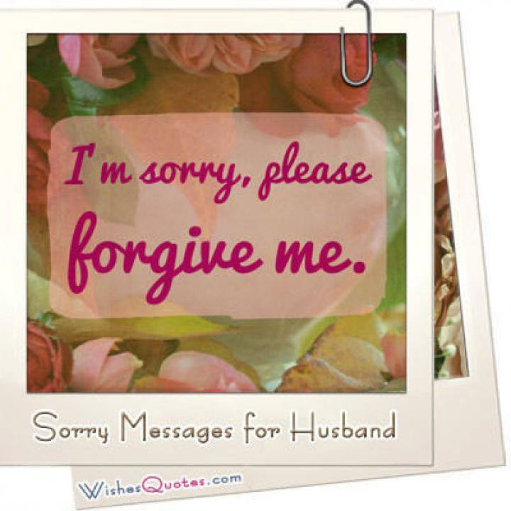 Sorry messages for husband featured