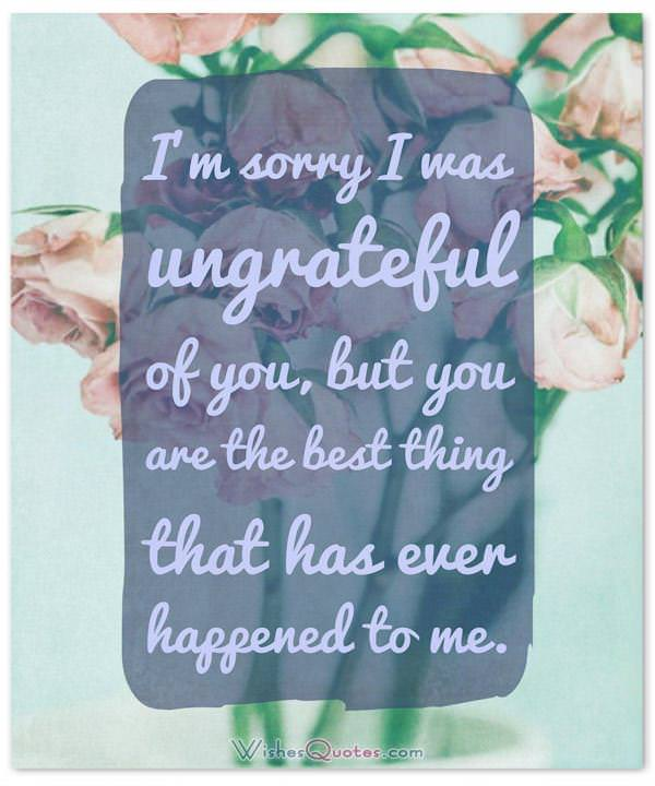 ... Apology Letter To Wife  Apology Card Messages