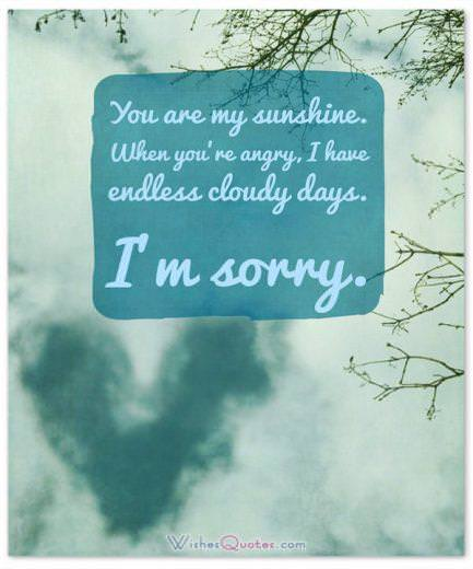 Sincere Apology Quote for Wife