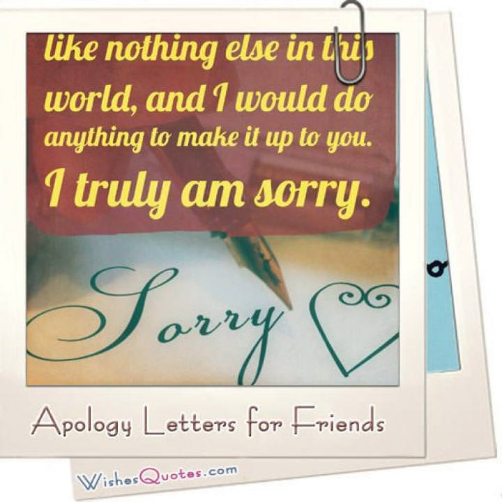 Apology letter friend featured