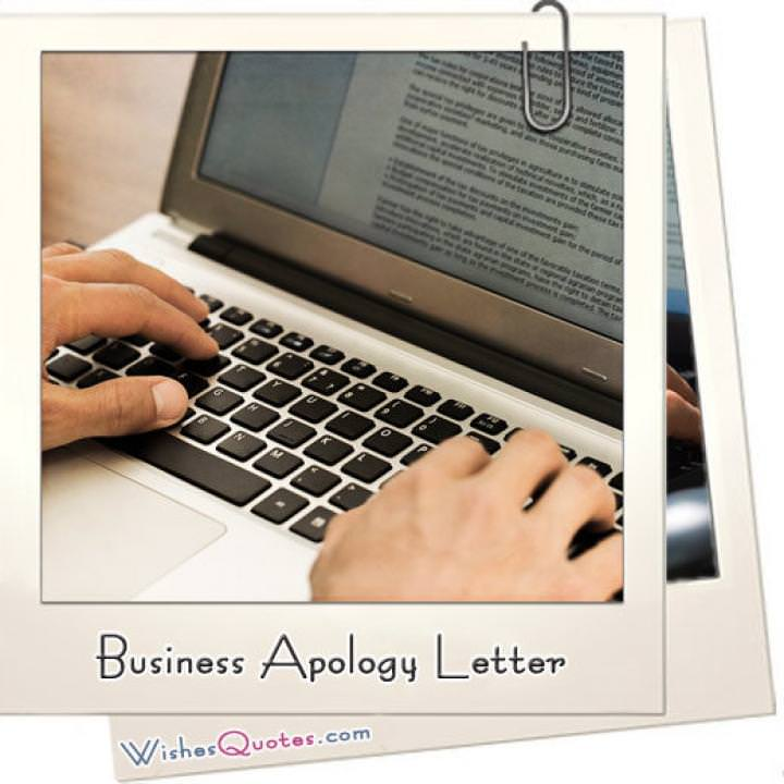 Business apology letter featured