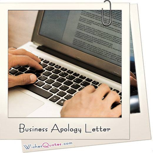 How to Write a Business Apology Letter