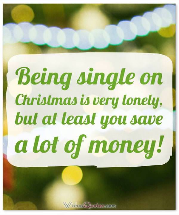 Christmas Funny Single Quote
