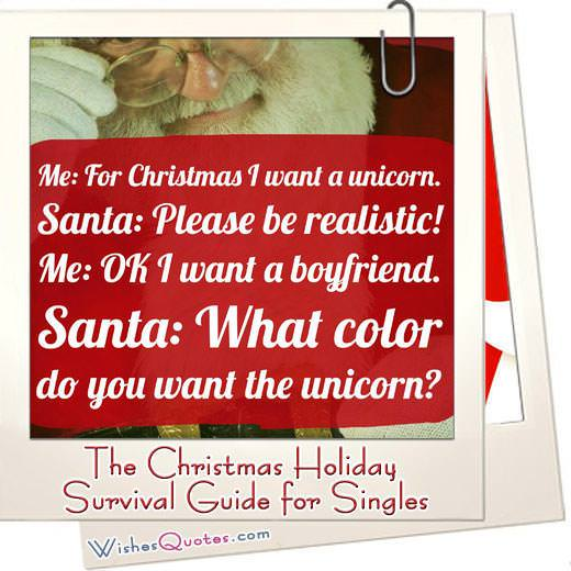 The Christmas Holiday Survival Guide for Singles