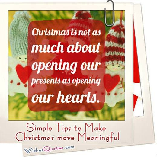 Simple Tips to Make Christmas more Meaningful