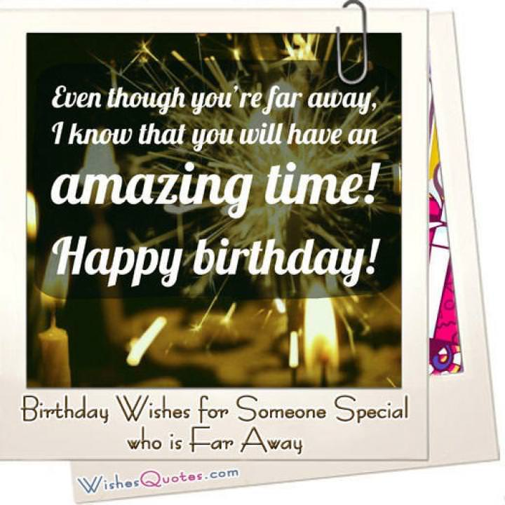 For away message lover far 30+ Birthday