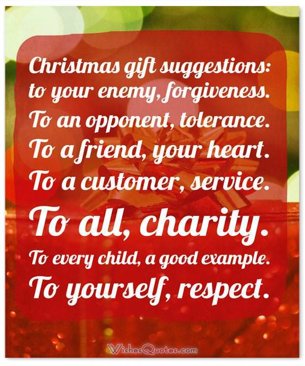 Quotes About Christmas Gifts: Simple Tips To Make Christmas More Meaningful