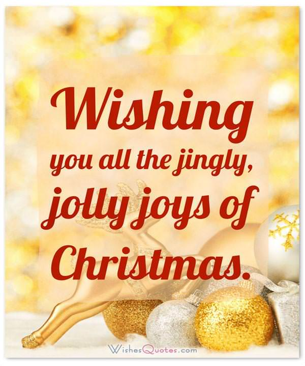 200 merry christmas wishes card messages christmas wishes wishing your family all the jingly jolly joys of christmas m4hsunfo