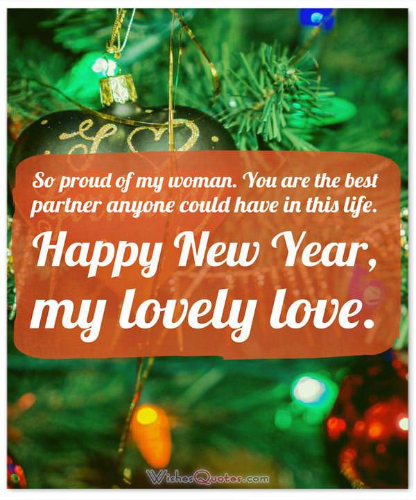 New Year Messages for Wife – Happy New Year for Her