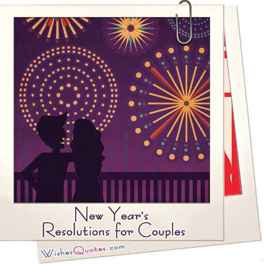 New years resolutions couples