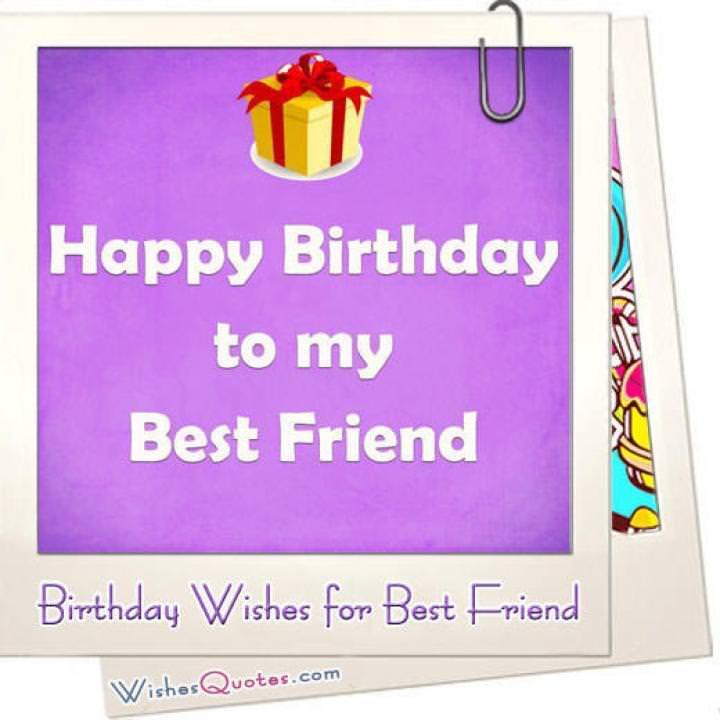 Best friend birthday wishes featured