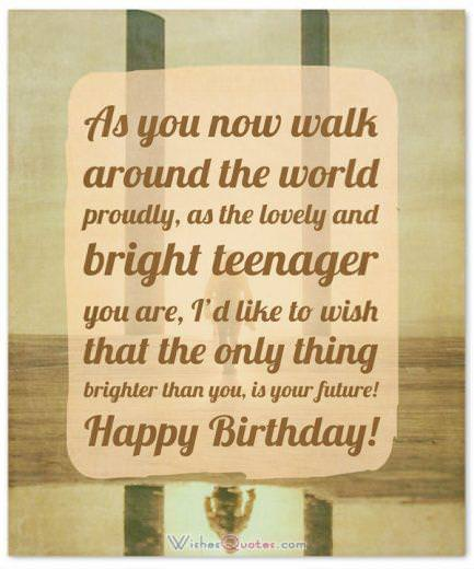 Birthday Wishes for Teenagers: