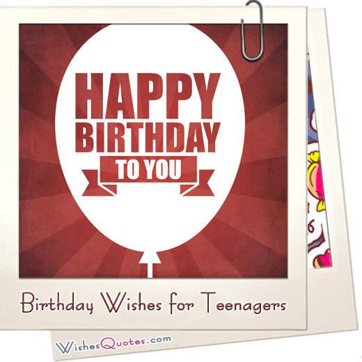 Birthday wishes for teenagers featured
