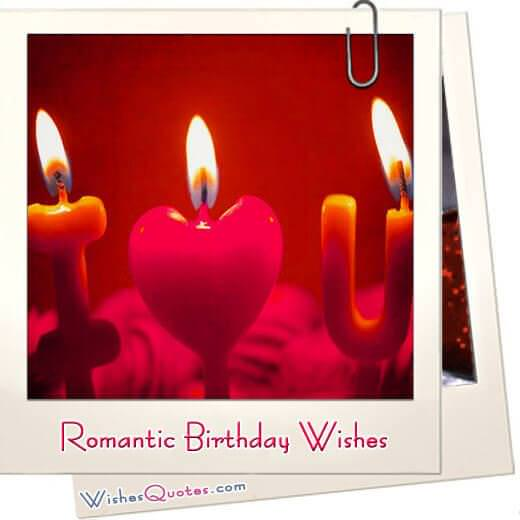 Romantic birthday wishes featured