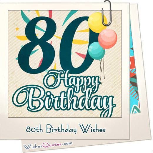 80th birthday wishes featured